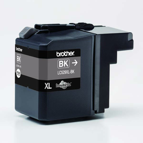 Brother original ink LC-529XLBK, black, 2400str., Brother DCP J100, DCP J105, MFCJ200