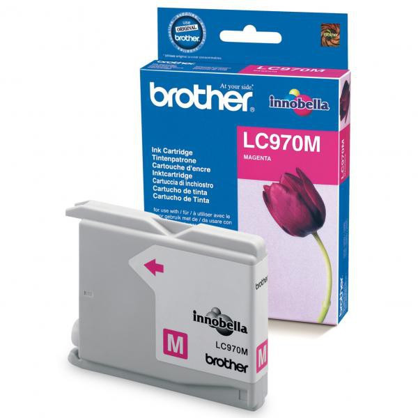 Brother original ink LC-970M, magenta, 300str., Brother DCP-135C, 150C, MFC-235C, 260C