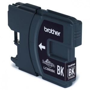Brother original ink LC-980BK, black, 300str., Brother DCP-145C, 165C