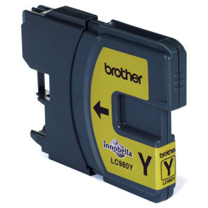 Brother original ink LC-980Y, yellow, 260ml, Brother DCP-145C, 165C