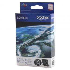 Brother original ink LC-985BK, black, 300str., Brother DCP-J315W