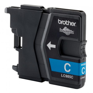 Brother original ink LC-985C, cyan, 260str., Brother DCP-J315W