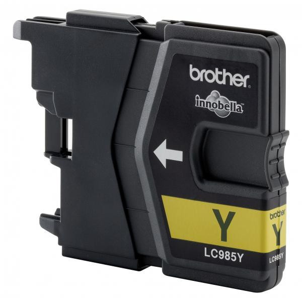 Brother original ink LC-985Y, yellow, 260str., Brother DCP-J315W