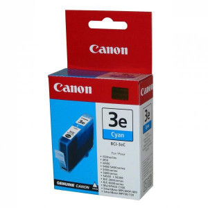 Canon original ink BCI3eC, cyan, 280str., 4480A002, Canon BJ-C6000, 6100, S400, 450, C100, MP700