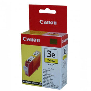 Canon original ink BCI3eY, yellow, 280str., 4482A002, Canon BJ-C3000, 6000, 6100, S400, 450, C100, MP700