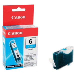 Canon original ink BCI6C, cyan, 13 4706A002, Canon S800, 820, 820D, 830D, 900, 9000, i950
