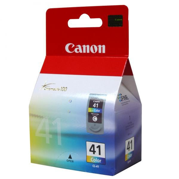Canon original ink CL41, color, blister s ochranou, 303str., 3x4ml, 0617B032, 0617B006, Canon iP1600, iP2200, iP6210D, MP150, MP17