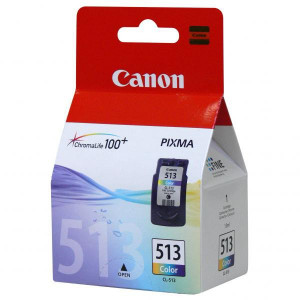 Canon originál ink CL513, color, blister s ochranou, 350str., 13ml, 2971B004, 2971B009, Canon MP240, MP260