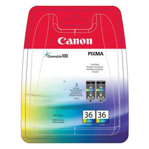 Canon original ink CLI36 Twin, color, 2*12ml, 1511B018, Canon Pixma Mini 260