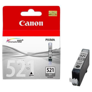 Canon original ink CLI521GY, grey, 1395str., 9ml, 2937B001, Canon MP980