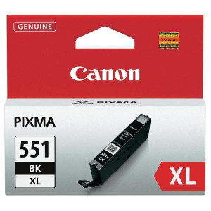 Canon original ink CLI551BK XL, black, 1130str., 11ml, 6443B001, high capacity, Canon PIXMA iP7250, MG5450, MG6350, MG7550