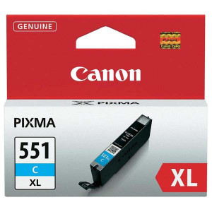 Canon original ink CLI551C XL, cyan, 11ml, 6444B001, high capacity, Canon PIXMA iP7250, MG5450, MG6350, MG7550