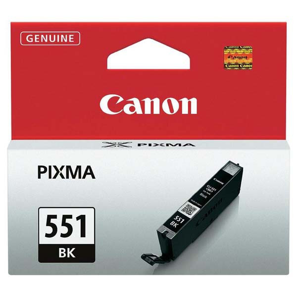 Canon original ink CLI551BK, black, 7ml, 6508B001, Canon PIXMA iP7250, MG5450, MG6350, MG7550