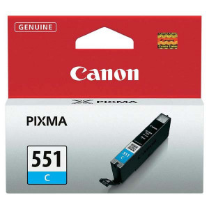 Canon original ink CLI551C, cyan, 7ml, 6509B001, Canon PIXMA iP7250, MG5450, MG6350, MG7550