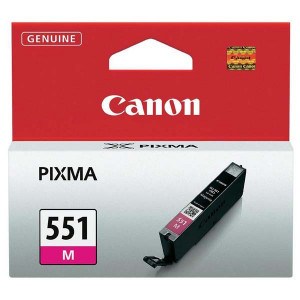 Canon original ink CLI551M, magenta, 7ml, 6510B001, Canon PIXMA iP7250, MG5450, MG6350, MG7550