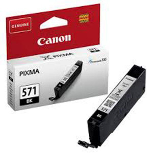 Canon original ink 0385C001, black, 376str., 7ml, CLI571, 1ks, Canon PIXMA MG5750, MG5751, MG5752, MG5753, MG6851, MG68
