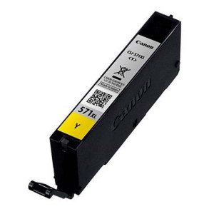 Canon originál ink 0334C001, yellow, 11ml, CLI571Y XL, high capacity, Canon PIXMA MG5750, MG5751, MG5752, MG5753, MG7750, MG77