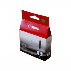Canon original ink CLI8BK, black, 490str., 13ml, 0620B001, Canon iP4200, iP5200, iP5200R, MP500, MP800