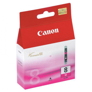 Canon original ink CLI8M, magenta, blister s ochranou, 420str., 13ml, 0622B026, 0622B006, Canon iP4200, iP5200, iP5200R, MP500, MP