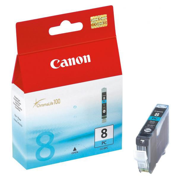 Canon original ink CLI8PC, photo cyan, 450str., 13ml, 0624B001, Canon iP6600, iP6700