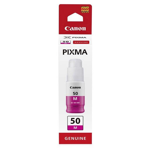 Canon original ink GI-50 M, magenta, 7700str., 9ml, 3404C001, Canon PIXMA G5050,G6050,GM2050