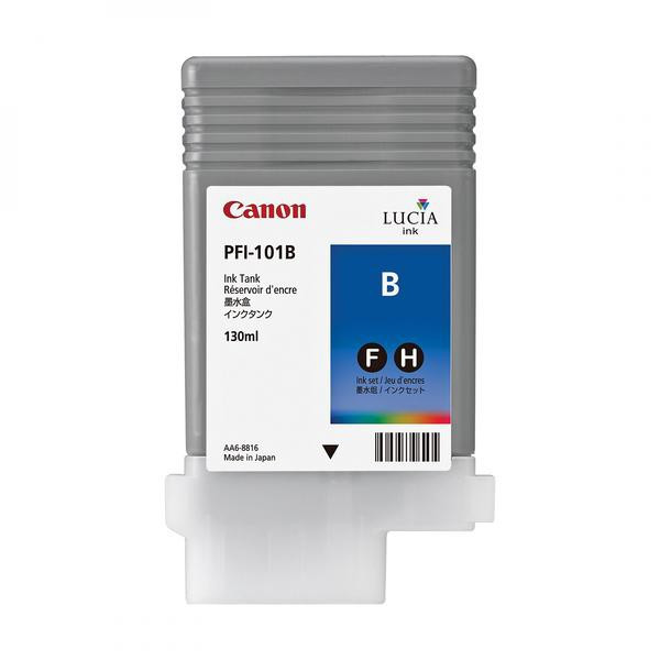 Canon original ink PFI101B, blue, 130ml, 0891B001, Canon iPF-5000