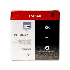 Canon original ink PFI303BK, black, 330ml, 2958B001, Canon iPF-810, 820
