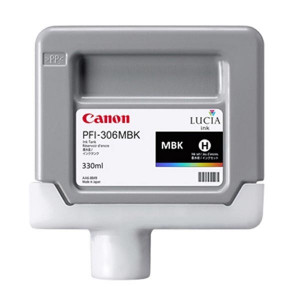 Canon original ink PFI306MBK, matte black, 330ml, 6656B001, Canon iPF-8300