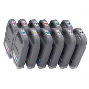 Canon originál ink PFI701PC, photo cyan, 700ml, 0904B001, 0904B005, Canon iPF-8X00, 8000S, 9X00, 9000S