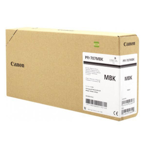 Canon original ink PFI-707MBK, matte black, 3x700ml, 9820B003, Canon iPF-830,840,850