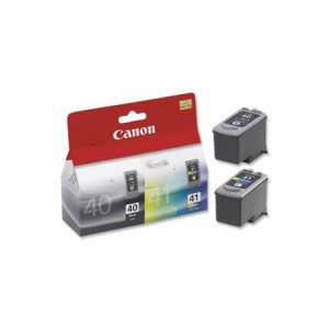 Canon originál ink PG40/CL41 multipack, black/color, 16,9ml, 0615B043, Canon iP1600, 2200, MP150, 170, 450