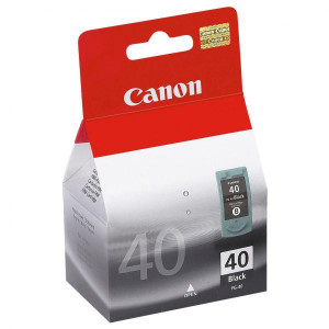 Canon original ink PG40, black, blister s ochranou, 490str., 16ml, 0615B042, 0615B006, Canon iP1600, 2200, MP150, 170, 450