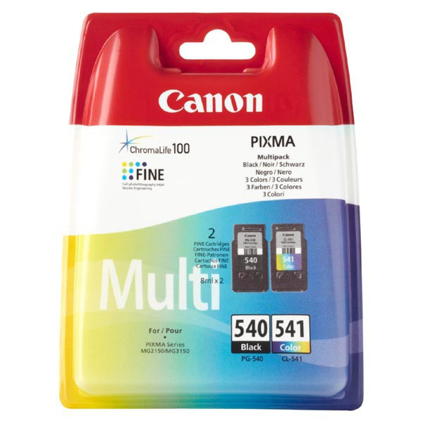 Canon originál ink PG540/CL541 multipack, black/color, 5225B006, Canon Pixma MG2150, 3150