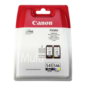 Canon originál ink PG-545/CL-546, black/color, blister, 2x180str., 1x8, 1x9ml, 8287B005, Canon Pixma MG2450, 2550,iP2850