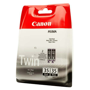 Canon original ink PGI35BK, black, 2x191str., 1509B012, 2ks, Canon Pixma iP100