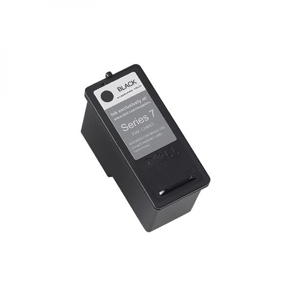 Dell original ink 592-10226, 592-10291, CH883, black, GR274, high capacity, Dell 966, 968
