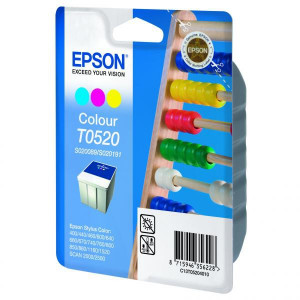 Epson originál ink C13T052040, color, 300str., 35ml, Epson Stylus Color 460, 670, 760, 860, 1160, 152