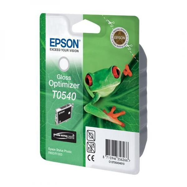 Epson original ink C13T054040, glossy optimizér, 400str., 13ml, Epson Stylus Photo R800, R1800