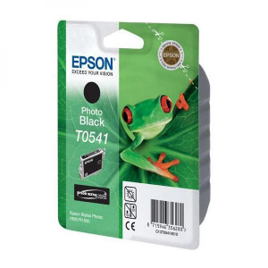 Epson originál ink C13T054140, photo black, 550str., 13ml, Epson Stylus Photo R800, R1800