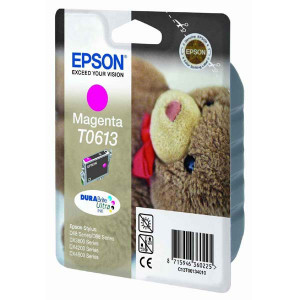 Epson original ink C13T06134010, magenta, 250str., 8ml, Epson Stylus D68PE, 88, DX3850, 4200, 4250, 4850