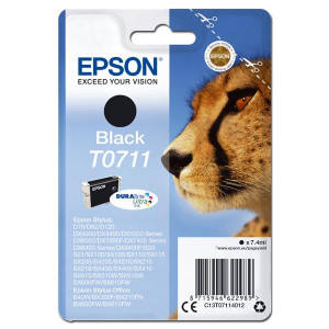 Epson original ink C13T07114012, black, 7,4ml, Epson D78, DX4000, DX4050, DX5000, DX5050, DX6000, DX605