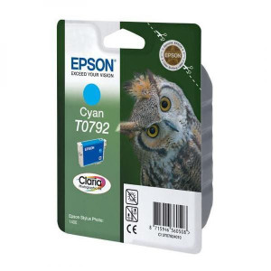 Epson original ink C13T079240, cyan, 11,1ml, Epson Stylus Photo 1400