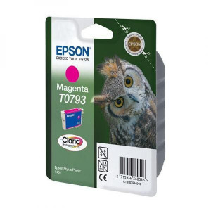 Epson original ink C13T079340, magenta, 11,1ml, Epson Stylus Photo 1400
