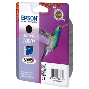 Epson original ink C13T08014011, black, 7,4ml, Epson Stylus Photo PX700W, 800FW, R265, 285, 360, RX560