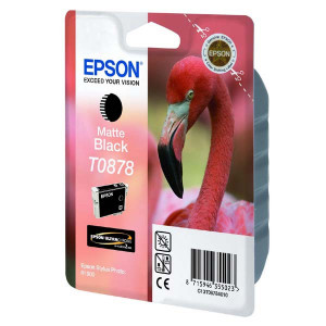 Epson original ink C13T08784010, matte black, 11,4ml, Epson Stylus Photo R1900