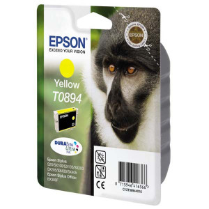 Epson original ink C13T08944011, yellow, 3,5ml, Epson Stylus S20, SX100, SX200, SX400