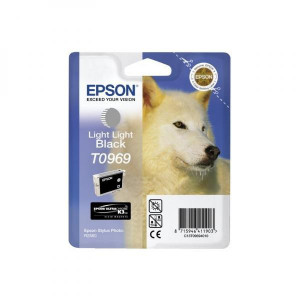 Epson original ink C13T09694010, light light black, 13ml, Epson Stylus Photo R2880