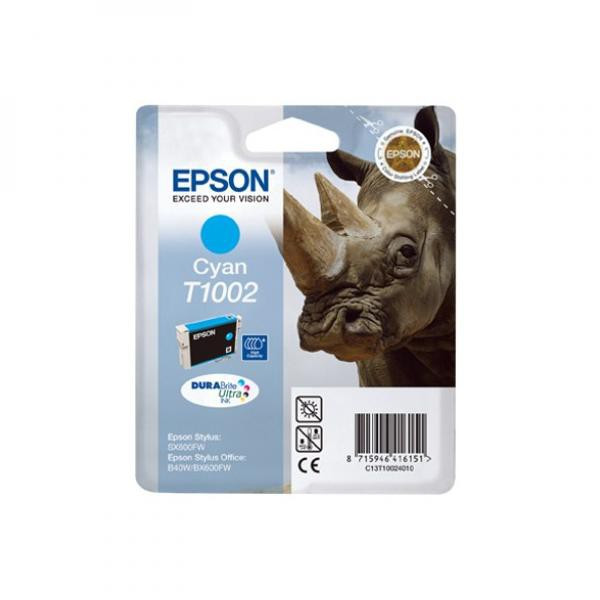Epson original ink C13T10024010, cyan, 11,1ml, Epson Stylus Office B40W, BX600FW