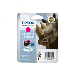 Epson original ink C13T10034010, magenta, 11,1ml, Epson Stylus Office B40W, BX600FW