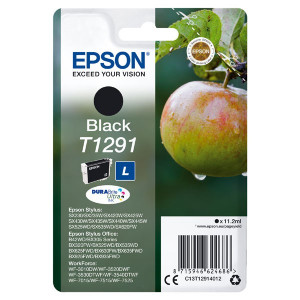 Epson original ink C13T12914022, T1291, black, blister, 420str., 11,2ml, Epson Stylus SX420W, 425W, Stylus Office BX305F, 320FW